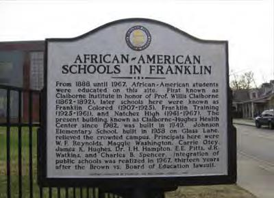 african americans in franklin