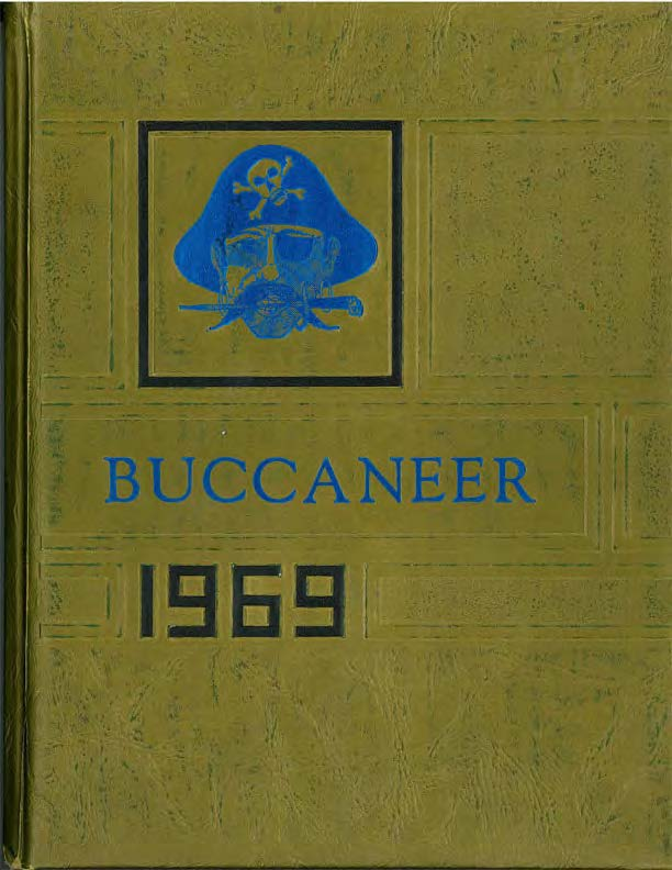 1969 Year Book cover