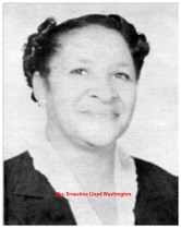 Mrs Ernestine Lloyd Washington