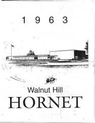 Walnut Hill High School 1963 cover