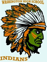 Washington high Indian mascot
