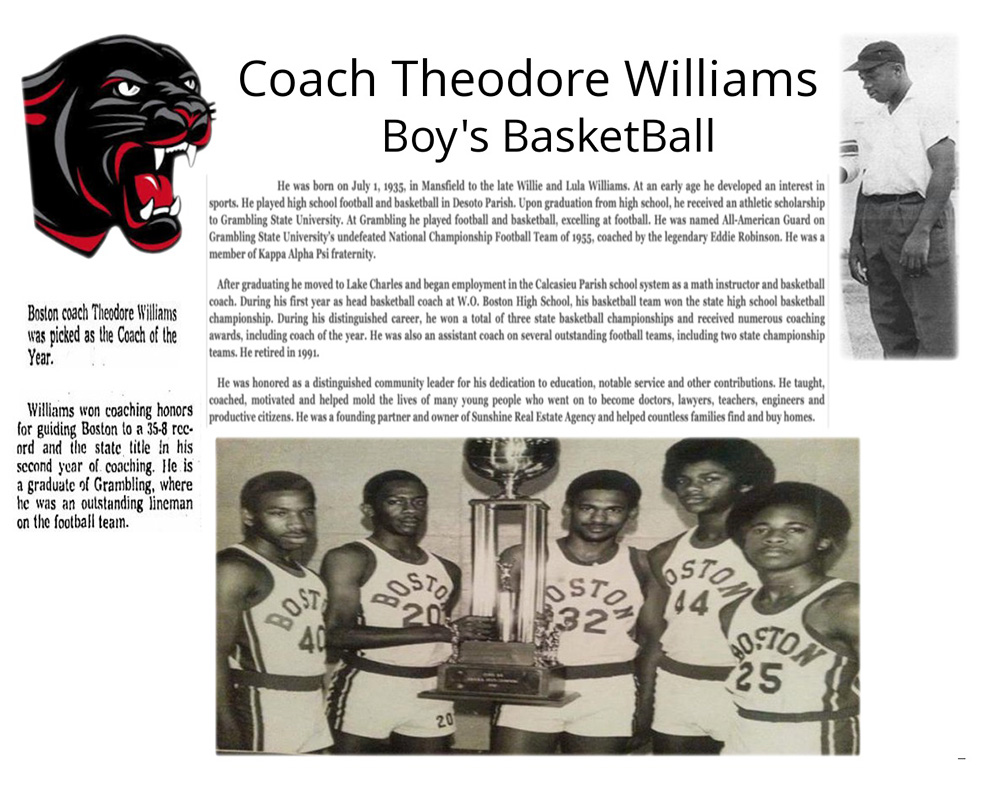 Coach Theodore Williams Bio