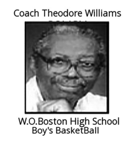 Coach Theodore Williams